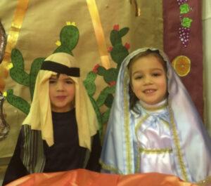 Belen infantil Santa Maria Camino